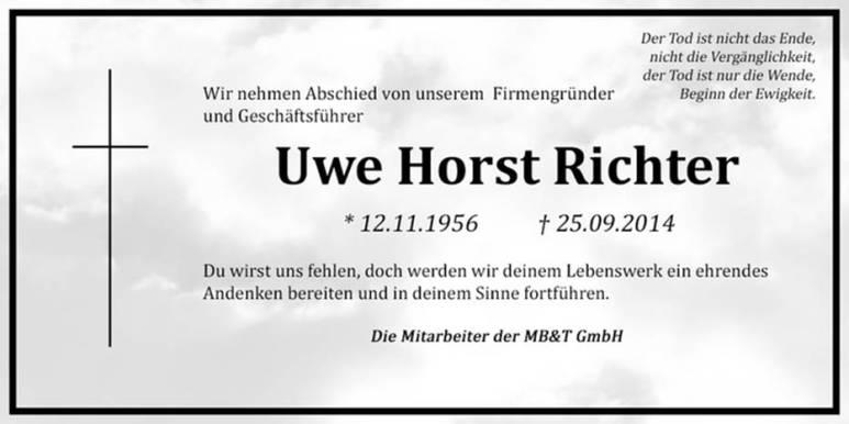 Uwe Horst Richter